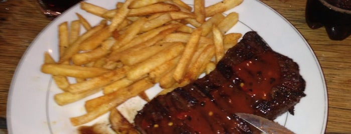 Paul's Steak House and Rock Bar is one of Tested Foods.