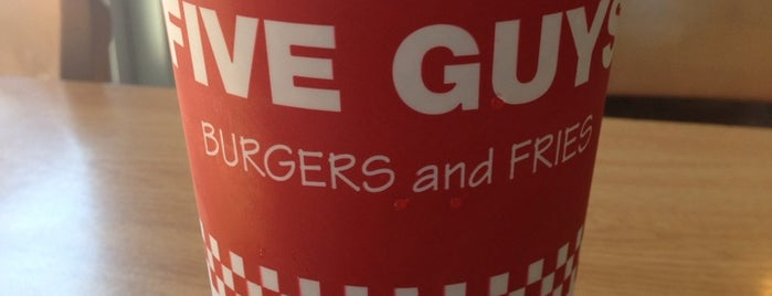 Five Guys is one of Dining.