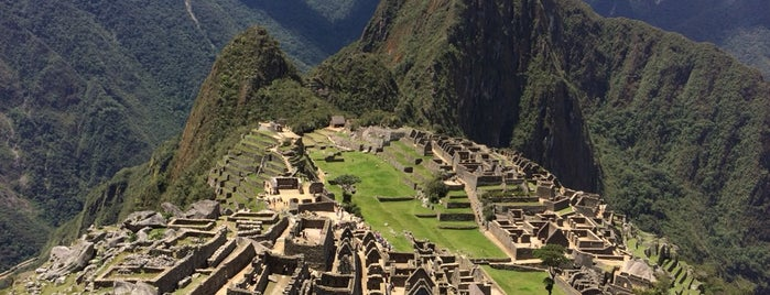 Machu Picchu is one of Dream Destinations.
