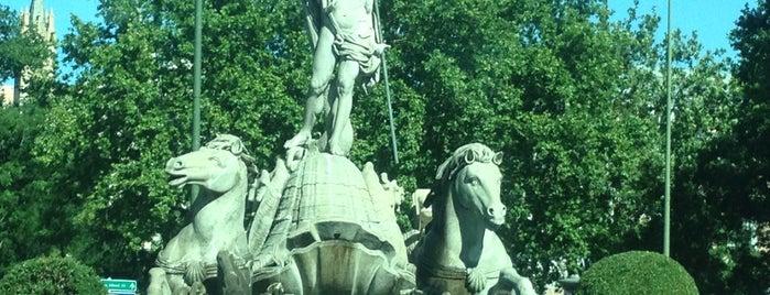 Fuente de Neptuno is one of @ Madrid (MD, España).