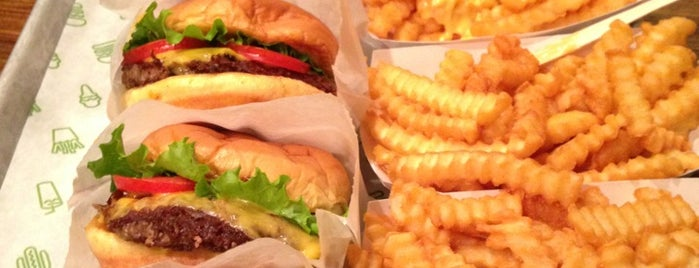 Shake Shack is one of NYC To-Do.