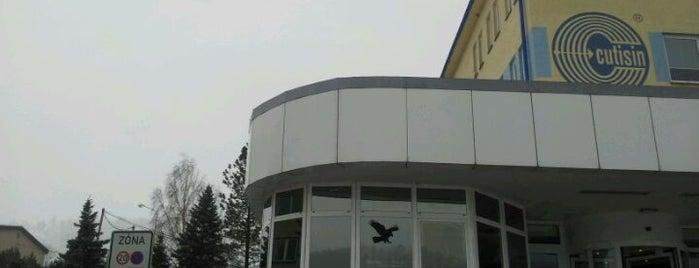 Železniční stanice Hrabačov is one of Železniční stanice ČR: H (3/14).
