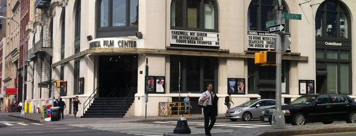 Angelika Film Center is one of NYC's Soho.