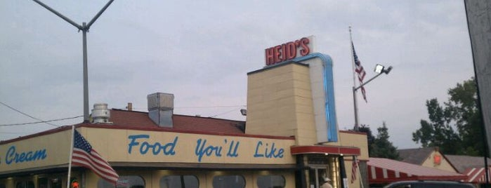 Heid's Of Liverpool is one of Ash's 'Cuse Hot Spots.
