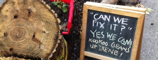 Kookoo Cafe is one of Nearby Neighborhoods: Brookline Village.