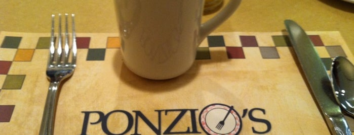 Ponzio's Diner Bakery Bar is one of The Best New Jersey Diners.