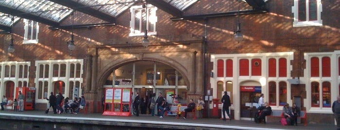 Stoke-on-Trent Railway Station (SOT) is one of Railway Stations in UK.