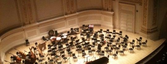 Carnegie Hall (Stern Auditorium/Perelman Stage) is one of OSL Performance Venues.