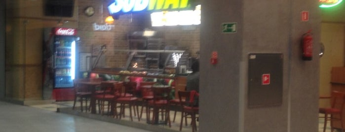 Subway is one of Foursquare Specials in Poland.