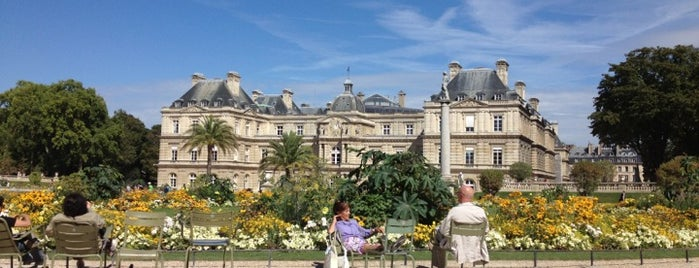 Jardin du Luxembourg is one of (anything) in Paris.