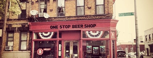 One Stop Beer Shop is one of Imbibe.