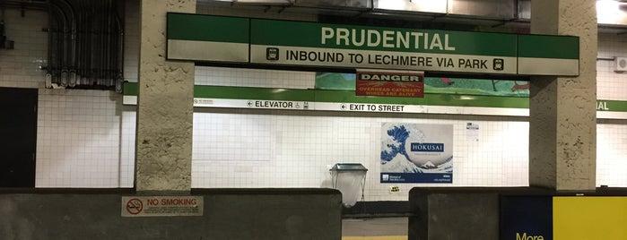 MBTA Prudential Station is one of Boston MBTA Stations.