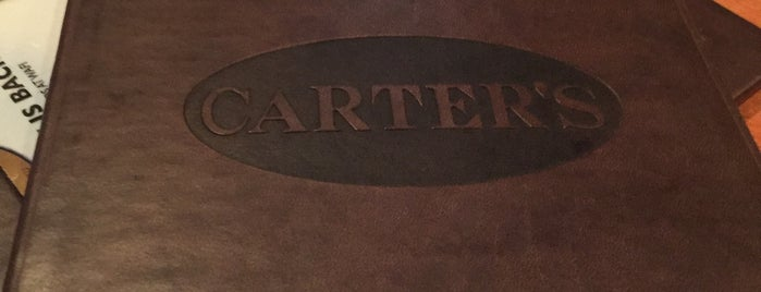 Carter's is one of Favorite bars.