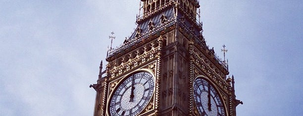 Big Ben (Elizabeth Tower) is one of London.