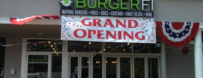 BURGERFI is one of Explore Long Island.