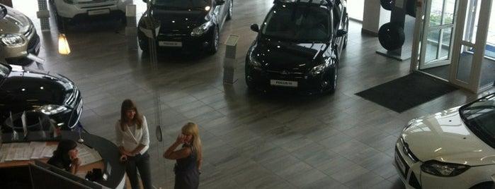 Ford Независимость is one of Где найти БЖ в Екатеринбурге.