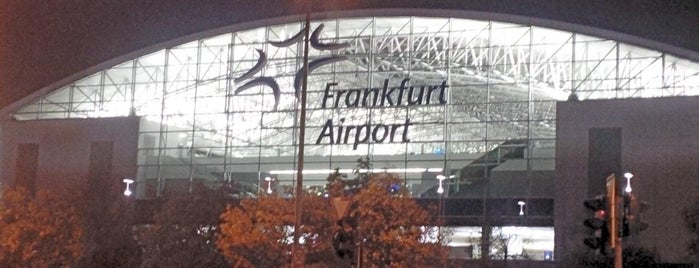 Frankfurt Airport (FRA) is one of Airports visited.