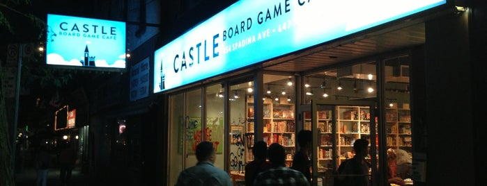Castle Board Game Café is one of The 'B' List - Very Good in Toronto.