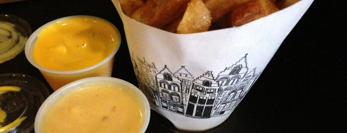 Pommes Frites is one of Andy's NY To-Do List.