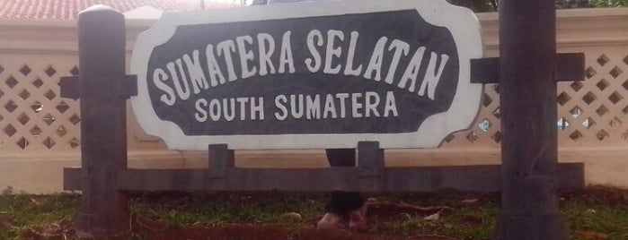 Anjungan Sumatera Selatan is one of Anjungan rumh adt sumsel.