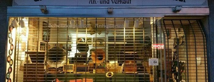 Grammophon Salon Schumacher is one of Vinyl in Berlin.