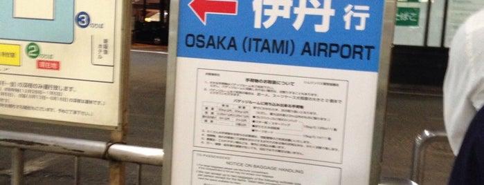 新阪急ホテル 空港バス乗り場 is one of ?8.