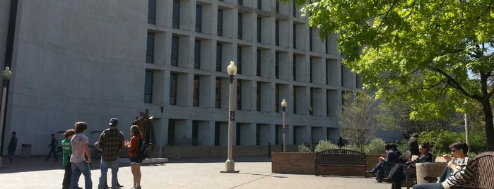 Perry-Castañeda Library (PCL) is one of 40 Acres Self-Guided Tour.