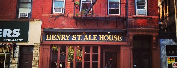Henry Street Ale House is one of To Drink in Brooklyn.