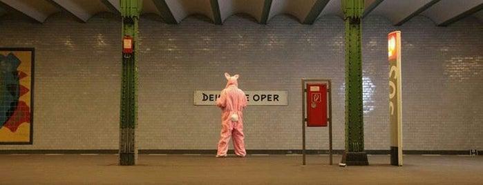 U Deutsche Oper is one of U-Bahn Berlin.