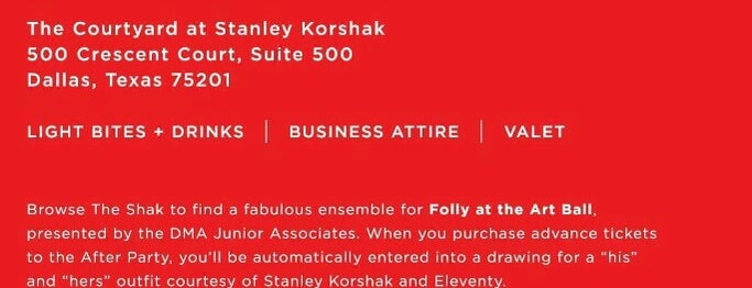 Bridal Salon at Stanley Korshak is one of * Gr8 Service Companies In Dallas (Misc.).
