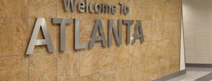 Hartsfield-Jackson Atlanta International Airport is one of Airports and hotels I have known.