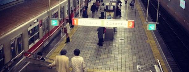 Yodoyabashi Station is one of 京阪.