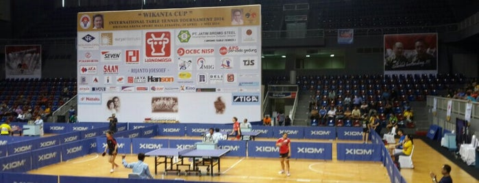 BritAma Arena is one of Enjoy Jakarta 2012 #4sqCities.