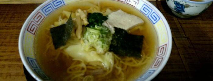 朝市食堂 is one of Ramen shop in Morioka.