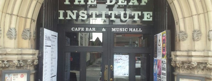 The Deaf Institute is one of STA Travel Favorite Music Places in Manchester.