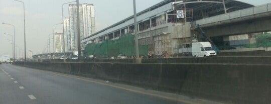 [Construction Site] BTS วุฒากาศ (Wutthakat) S11 is one of BTS Silom Line.