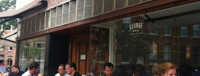 George W.P.A. is one of Favoriete horeca in Amsterdam.