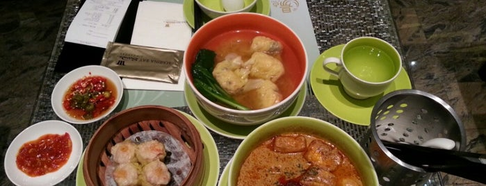 Tong Dim Noodle Bar @ MBS is one of All-time favorites in Singapore.
