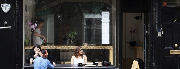 Salt Espresso Lunch & Tea Bar is one of 100+ Independent London Coffee Shops.