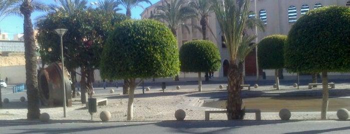 Plaza De España is one of Alicante urban treasures.