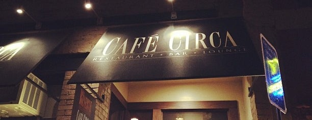Cafe Circa is one of Atlanta.