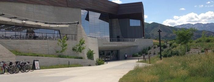 Natural History Museum of Utah is one of UT - (Salt Lake City / Park City / Layton).