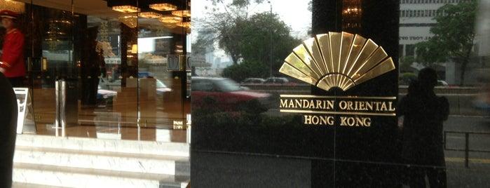 Mandarin Oriental, Hong Kong is one of Hotel.