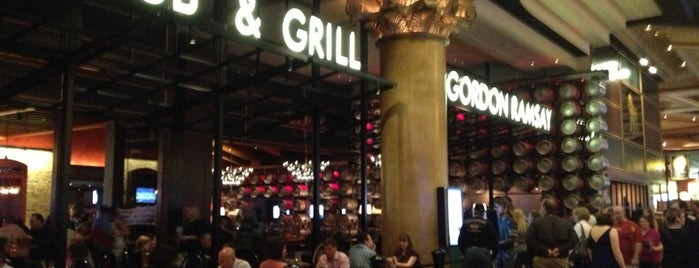 Gordon Ramsay Pub & Grill is one of Great Places to Eat in Vegas!.