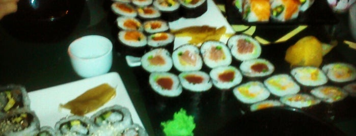 The Sushi Bar is one of Favorite.