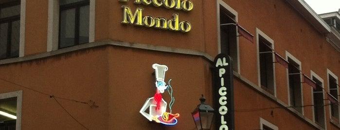Al Piccolo Mondo is one of 20 favorite restaurants.