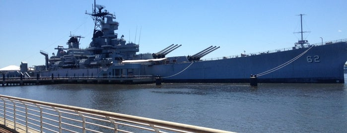 Battleship New Jersey Museum & Memorial is one of Parks-Outdoors.