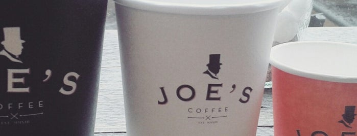 Joes Coffee is one of Dublin.