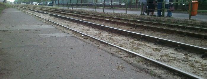Bajcsy-Zsilinszky Kórház (28, 28A, 37) is one of Pesti villamosmegállók.