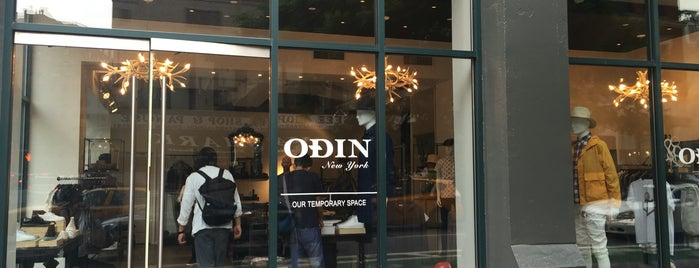 Odin is one of Shops to visit | New York.